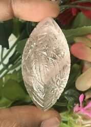192.60 Ct Museum 100 Year Old Main Rare Collection Morganite Tremendous Carving