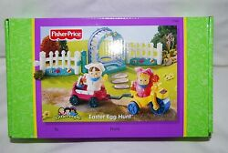 🐇fisher Price Little People Easter Egg Hunt Complete New Sealed In Box🐣