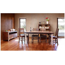 Crafters And Weavers Bayshore Multi Colored 69 Dining Set With 6 Chairs