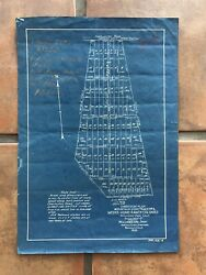 1923 Mountain View California Subdivision Plan Weeks Home Ranch