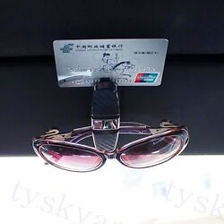 Auto Accessories Glasses Sun Visor Spectacles Id Card Ticket Holder Clip Tool