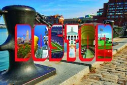 Boston Postcards 250 Bulk Order 4quot; x 6quot;