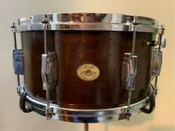 Vintage 1930's Ludwig Standard Model Drum Equipped With Original Mute Rare