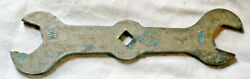 Antique Early New Britain Tools 3/4 And 5/8 Wrench None Better Usa Rare Vintage