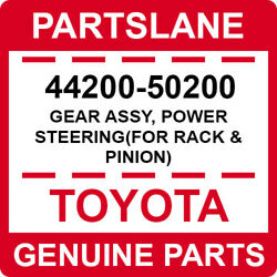 44200-50200 Toyota Oem Genuine Gear Assy Power Steeringfor Rack And Pinion