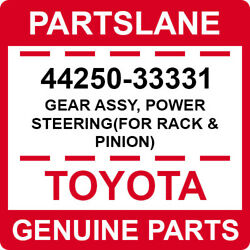44250-33331 Toyota Oem Genuine Gear Assy Power Steeringfor Rack And Pinion