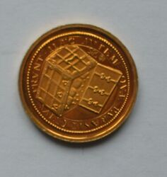 Germany - Gold Medallion 1994 Frederick The Great 0.585 Gold Coin