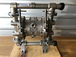 Graco Fd1111 Saniforce 1040 Metallic Clamped Pump Stainles Steel Fluid Section