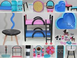 Lol Surprise Wood Doll House Furniture You Choose   Ships Canada And Usa