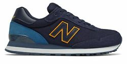 New Balance Men's 515 Shoes Blue with Blue & Yellow