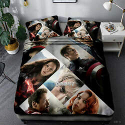Great Hall Of Fame 3D Quilt Duvet Doona Cover Set Single Double Queen King Print