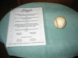 Early 1960and039s Mickey Mantle Roger Marisand Other N. Y. Yankees Signed Baseball