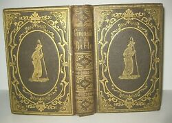 1852 Antique Book_conquests Of Bible_crusades Martyrs Wars Kings Puritan Indians