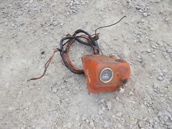 Allis Chalmers Ac Wd 45 Tractor Amp Box + Wiring Wire Harness And Gauge 12v