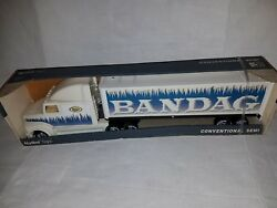 Vintage Nylint Toys Conventional Semi Truck In Original Box Made In The Usa