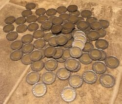 Lot Of 80+ New Arcade Gaming Tokens - Vintage