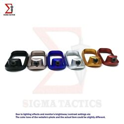 Metal Aluminum Flared Magwell Fits P80 Pf940c Pf940v2 Anodized Finish 5 Colors