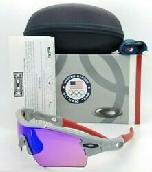 NEW Oakley sunglasses Radar Path TEAM USA Grey Blue Iridium 9051 GENUINE 24 301 $249.00