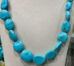 Genuine Natural Egyptian Turquoise Necklace 22