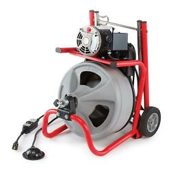 Drain Cleaning Drum Machine With C-32 3/8 In. 115-volt Integral Wound Cable