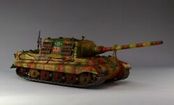 1/30 Ww2 German Jadgtiger Early Production Camouflage G061 By Eagle Design