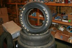 Nos 1973-74 Pantera Goodyear Ariva C60v15 Front Tires, Mint Never Mounted