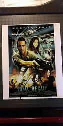 Colin Farrell Total Recall Signed 8x10