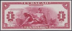 Curacao 1 Gulden 1947 Set Of 2 Uniface Proofs Of Front And Back Unc Pick 35