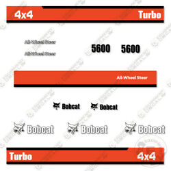 Bobcat 5600 4x4 Tool Carrier Utility Vehicle Replacement Decals Old Style
