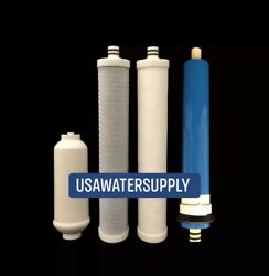 Filter Set With Compatible Membrane For Culligan Ac-30 Reverse Osmosis System