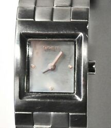 Breil Bw0189 20x26 New Old Stock All Stanley Steel Brunito/lucido 3atm Deployant