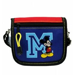 Mickey Mouse Disney Mini Cross Shoulder Bag String Wallet $12.95