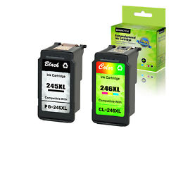 Generic Pg-245xl Cl-246xl Black Color Ink For Canon Pixma Ip2820 Mg2920 Mx492