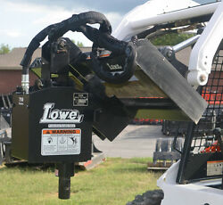 Lowe 750 Classic Round Auger Drive Digger Attachment Fits Skid Steer Loader
