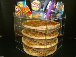 305displays 18 Pizza Showcase Retail Store Acrylic Display Cases