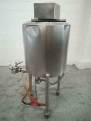 Stainless Steel 21 Gallon Electrically Heated Jacketed Tank-m11171
