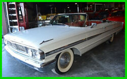 1964 Ford Galaxy 500  1964 Ford Galaxie 500 Convertible Classic 73500 Miles RWD  White Wall Tires