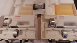 Lot Of 2 Biotest Hycon Rcs Plus Air Sampling Units In Cases For Parts Or Repair