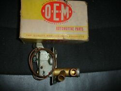 Nos 1953 And 1954 Dodge Heater Valve Andchrome Dash Control With Levers Both One Bid