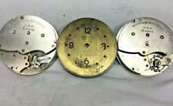 Waltham 8 Day Clock  Movements For Parts