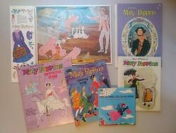 Vtg 1960's Disney's Mary Poppins Collectibles Lot-most Is New