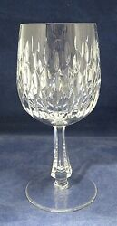 Chantilly Vertical Cuts Gorham Discontinued Circa 1972 1984 Wine Water Goblet 7