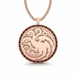 Game Of Thrones House Targaryen Pendant Fire And Blood Targaryen Necklace Unisex