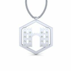 Game Of Thrones House Frey Pendant Necklace Sterling Silver House Frey Pendant