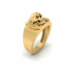 Archangel Wings Ring Jolly Roger Deathand039s Head Pirates Skull Engagement Gift Ring