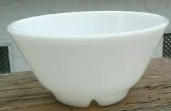 Rare Pyrex Military Prototype Footed Bowl U.s. Opal 1940and039s
