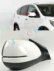 Rh Passenger Side 5 Pins Rear View Mirror White For Honda Crv Cr-v 2012-2016 J