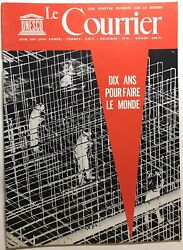 39 Magazine Monthly Unesco The Mail Ten Years For Know-how Le Monde N6 Of 1964