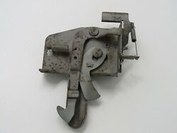Original 1959 Chevy Pickup Truck Hood Latch Catch Release Lever Pre-owned
