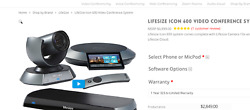 Lifesize Icon 600 Conferencing System